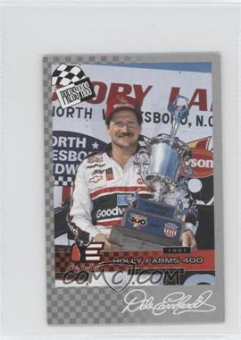 2005 Press Pass - Dale Earnhardt Victories #52 - Dale Earnhardt /825