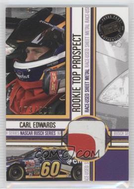 2005 Press Pass - Rookie Top Prospect - [Memorabilia] #CE-SM - Carl Edwards /200