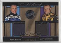 Mark Martin, Matt Kenseth #/225