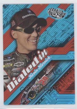 2005 Press Pass Trackside - Dialed In #DI 2 - Kevin Harvick