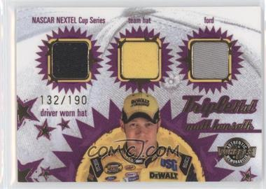 2005 Wheels American Thunder - Triple Hat #TH 11 - Matt Kenseth /190