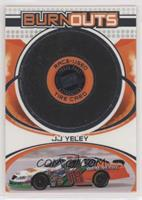 J.J. Yeley [EX to NM] #/900