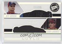 Jeff Gordon, Terry Labonte #/25