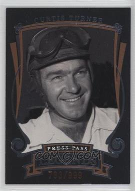 2006 Press Pass Legends - [Base] - Bronze #Z4 - Curtis Turner /999