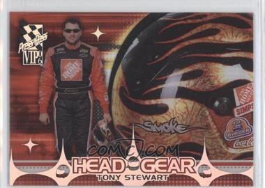 2006 Press Pass VIP - Head Gear - Transparent #HGT 8 - Tony Stewart