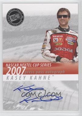 2007 Press Pass - Autographs #KAKA - Kasey Kahne