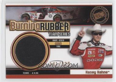 2007 Press Pass - Burning Rubber Race-Used Tire Team Series #BRT 4 - Kasey Kahne /325
