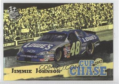 2007 Press Pass - Cup Chase Redemption Contest #CCR 8 - Jimmie Johnson