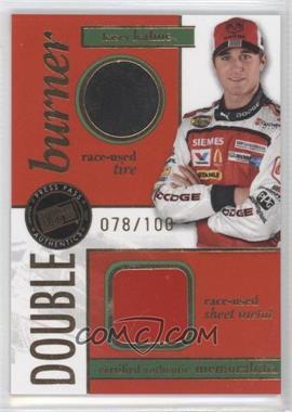 2007 Press Pass - Double Burner Race-Used - Tire/Sheet Metal #DB-KK - Kasey Kahne /100