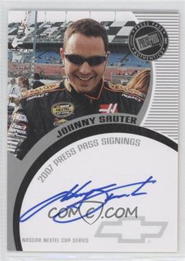 2007 Press Pass - Press Pass Signings - Silver #JOSA - Johnny Sauter /100