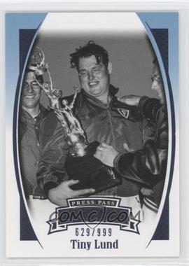 2007 Press Pass Legends - [Base] - Blue #B-13 - Tiny Lund /999