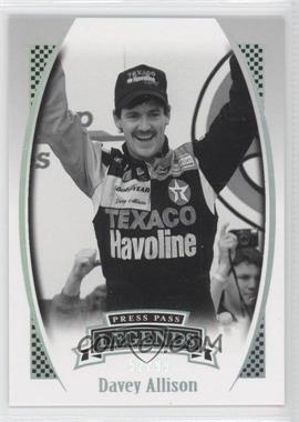 2007 Press Pass Legends - [Base] - Holofoil #H-36 - Davey Allison /99