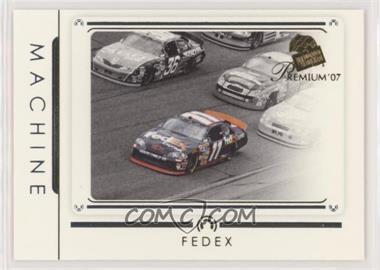 2007 Press Pass Premium - [Base] #39 - Machine - Denny Hamlin