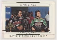 Media Day - David Stremme, J.J. Yeley