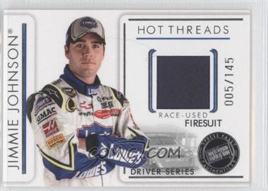 2007 Press Pass Premium - Hot Threads Drivers #HTD 15 - Jimmie Johnson /145
