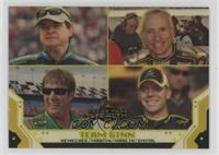 Joe Nemechek, Sterling Marlin, Mark Martin, Regan Smith #/99