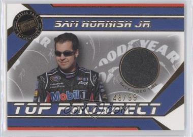 2007 Press Pass Stealth - Top Prospect Race-Used - Gold Tire #SH-T - Sam Hornish Jr. /99