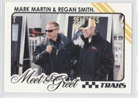 Mark Martin, Regan Smith