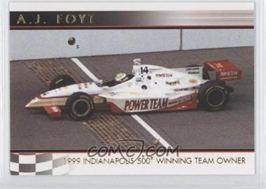 2007 Rittenhouse Indy Car Series - A.J. Foyt 50th Anniversary #08 - A.J. Foyt /500