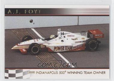 2007 Rittenhouse Indy Car Series - A.J. Foyt 50th Anniversary #08 - A.J. Foyt /500