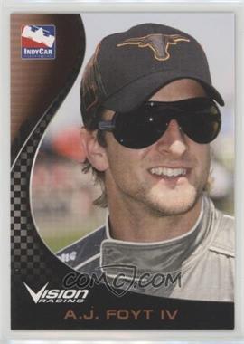 2007 Rittenhouse Indy Car Series - [Base] #51 - A.J. Foyt IV