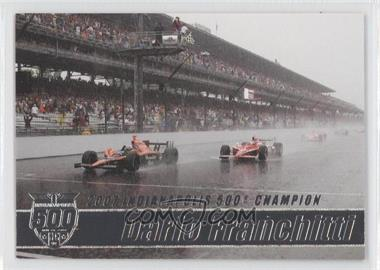 2007 Rittenhouse Indy Car Series - Road to Victory Indy 500 #V7 - Dario Franchitti