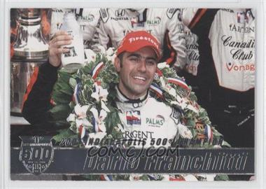 2007 Rittenhouse Indy Car Series - Road to Victory Indy 500 #V9 - Dario Franchitti