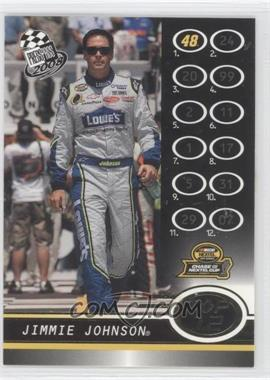 2008 Press Pass - [Base] - Gold #G107 - Jimmie Johnson