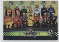 Jimmie Johnson, Jeff Gordon, Tony Stewart, Carl Edwards, Kurt Busch, Denny Haml…