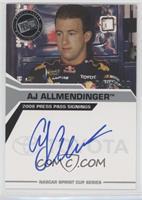 A.J. Allmendinger #/100