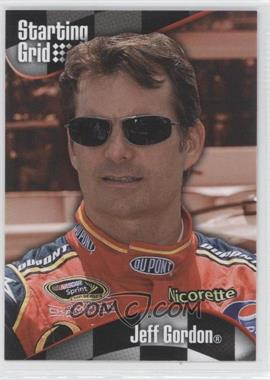 2008 Press Pass - Starting Grid #SG 10 - Jeff Gordon