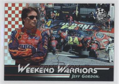 2008 Press Pass - Weekend Warriors #WW 1 - Jeff Gordon