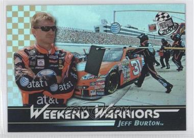 2008 Press Pass - Weekend Warriors #WW 6 - Jeff Burton