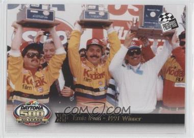 2008 Press Pass Daytona 500 50 Years - [Base] #28 - Ernie Irvan - 1991 Winner