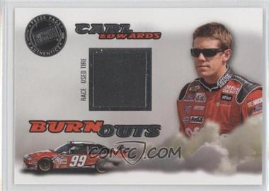 2008 Press Pass Eclipse - Burnouts Race-Used Tire #2 - Carl Edwards