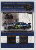 Jimmie Johnson [Noted] #/25