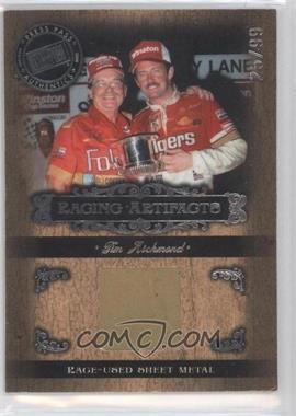 2008 Press Pass Legends - Racing Artifacts - Silver Sheet Metal #TR-S - Tim Richmond /99