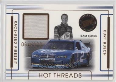 2008 Press Pass Premium - Hot Threads Teams #HTT-12 - Kurt Busch /120