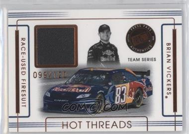 2008 Press Pass Premium - Hot Threads Teams #HTT-3 - Brian Vickers /120