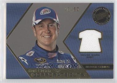 2008 Press Pass Speedway - Corporate Cuts - Driver Series Gold #CD-KUB - Kurt Busch /80