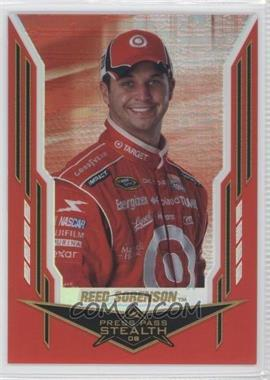 2008 Press Pass Stealth - [Base] - Chrome Exclusives #31 - Reed Sorenson /25