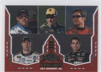 Martin Truex Jr., Paul Menard, Dale Earnhardt, Regan Smith, Aric Almirola, Mark…