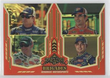 2008 Press Pass Stealth - [Base] - Gold Chrome Exclusives #67 - Hendrick Motorsports /99