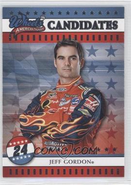 2008 Wheels American Thunder - [Base] #12 - Jeff Gordon