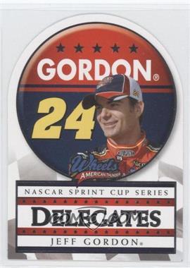 2008 Wheels American Thunder - Delegates #D 7 - Jeff Gordon