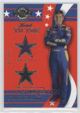 2008 Wheels American Thunder - Head to Toe Hat & Shoe #HT 2 - Jamie McMurray /99