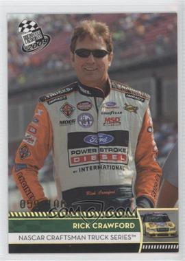 2009 Press Pass - [Base] - Holo #51 - Rick Crawford /100