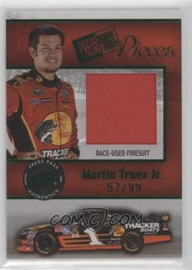 2009 Press Pass - Pieces Materials - Green #PP-MT - Martin Truex Jr. /99