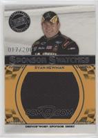 Ryan Newman #/200