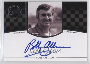 2009 Press Pass Legends - Authographs - Silver #BOAL - Bobby Allison